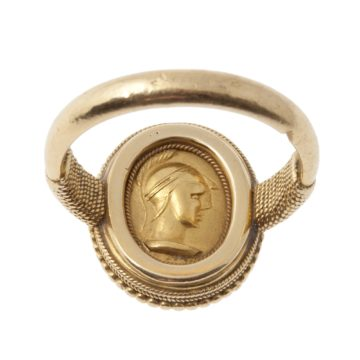 neo stijl ring wièse 1870s