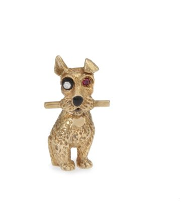 cartier terrier broche 1964