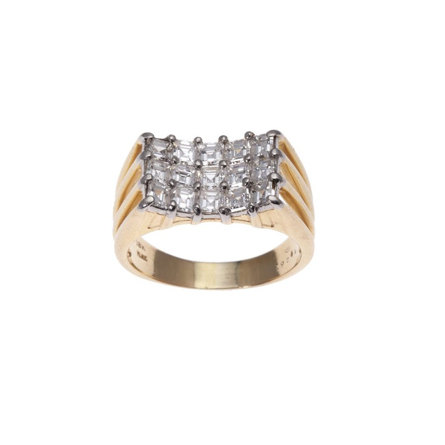 diamant ring oscar heyman 1970s