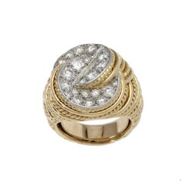 ring cartier diamant 1970s