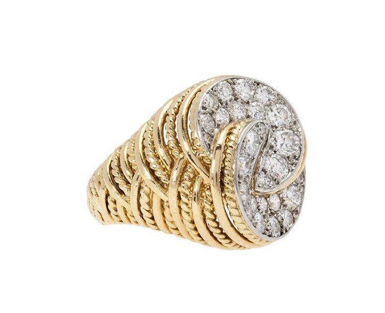 ring cartier diamant 1970s