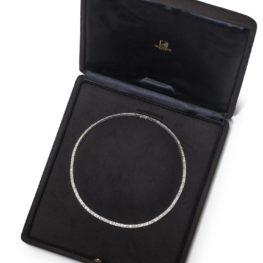 Van Cleef Arpels rivière diamond necklace
