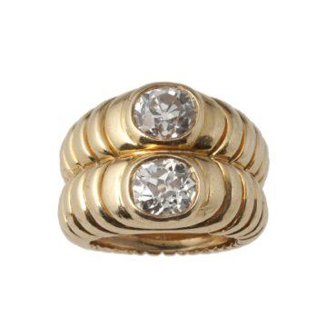 rené boivin bibendium ring 1940s