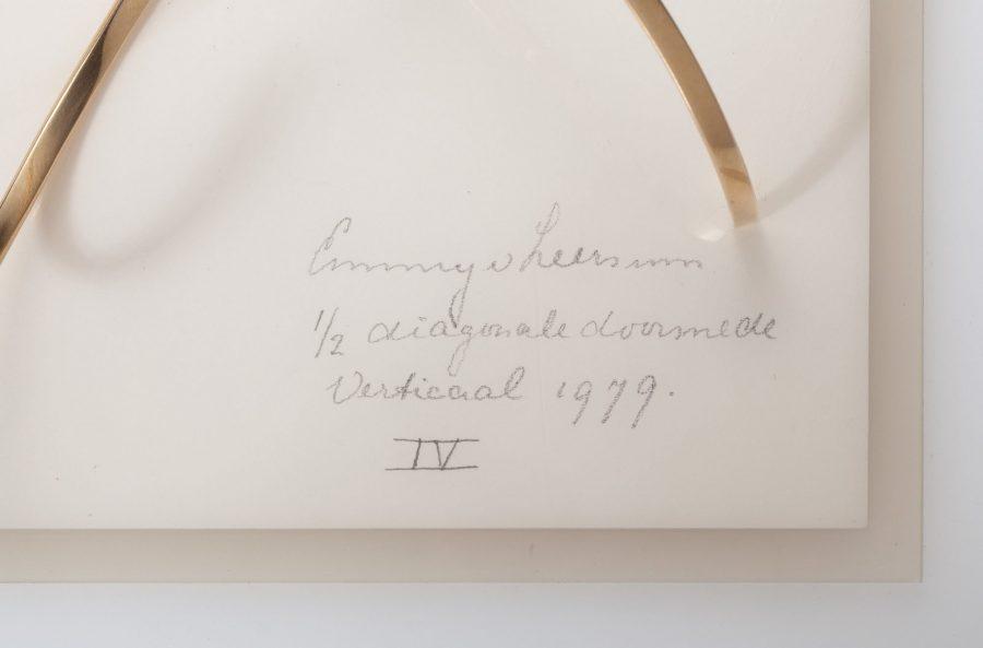 emmy van leersum diagonale doorsnede verticaal armband 1979