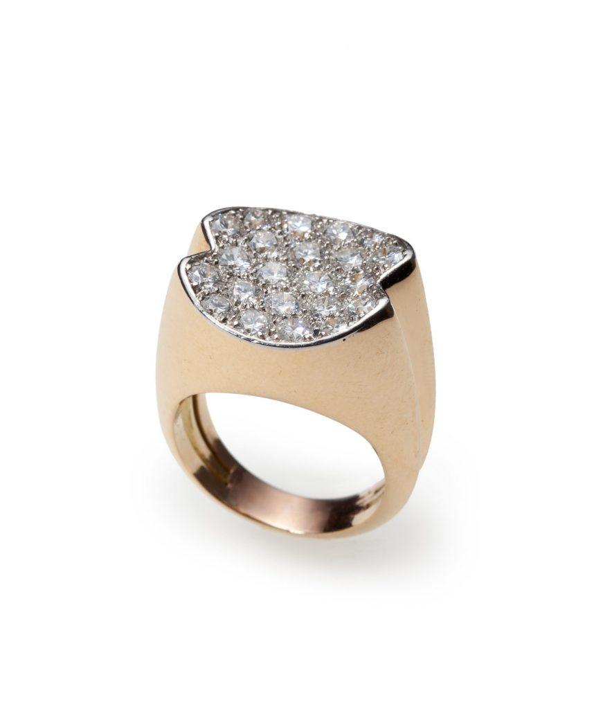 ring diamant cartier