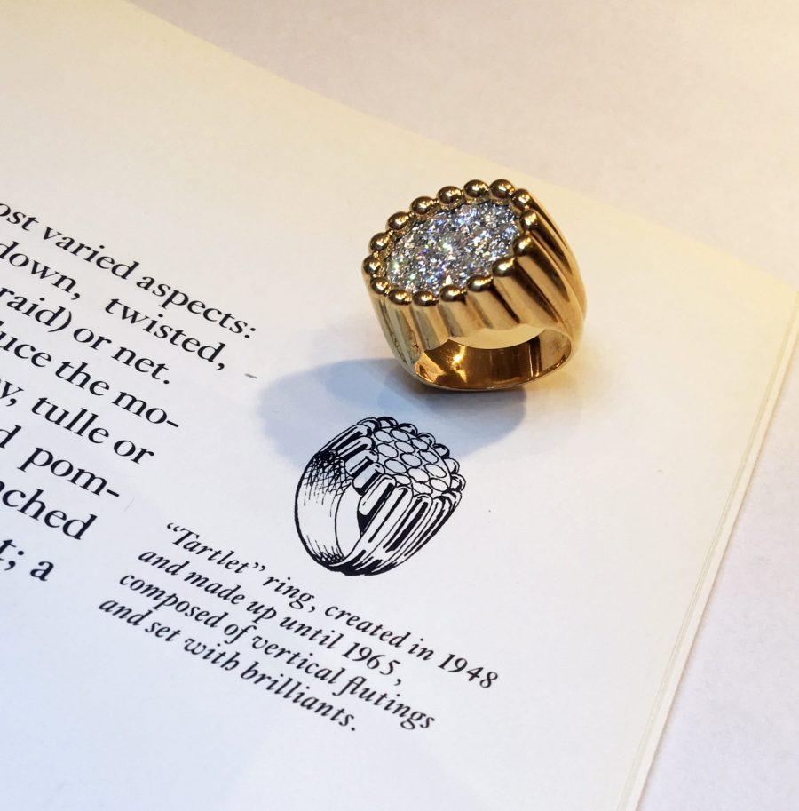 van cleef arpels new york ring tartelette 1960s marjan sterk fine art jewellery