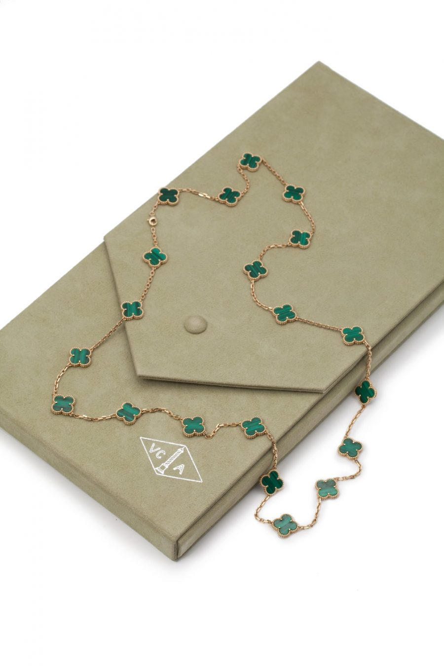 alhambra malachiet van cleef & arpels