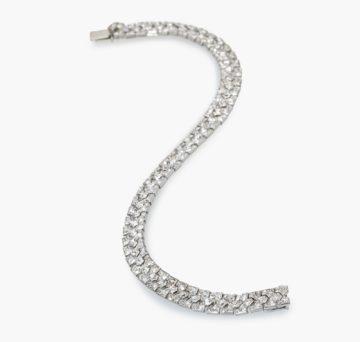 Cartier Art Deco armband diamant