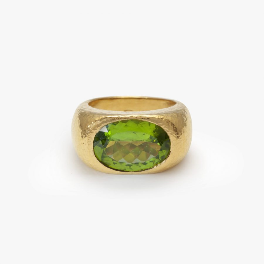 Peridot ring Colleen Rosenblat