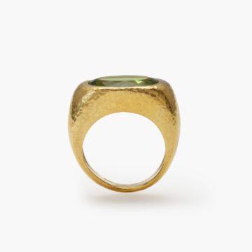 Peridot ring Colleen Rosenblat