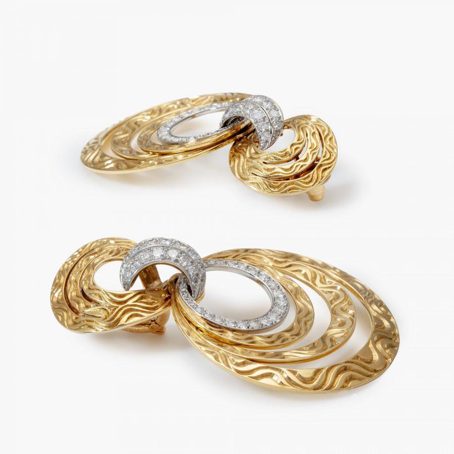 Cartier oorbellen ringen jaren '60