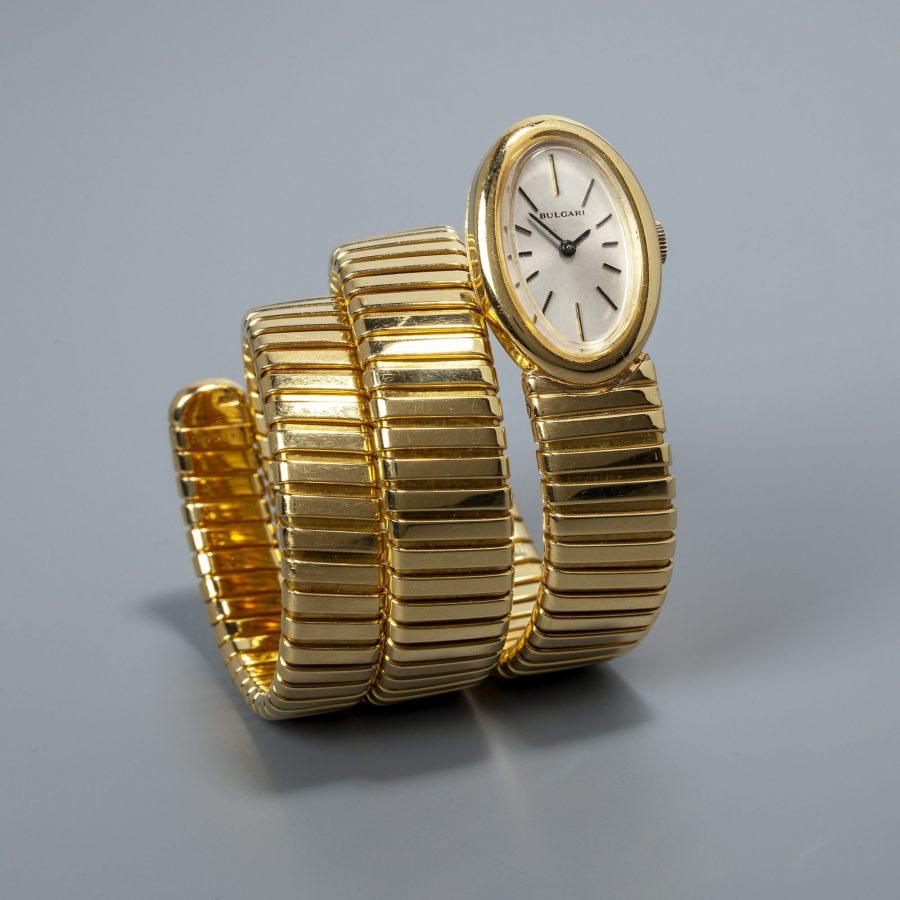 Bulgari tubogaz serpenti horloge