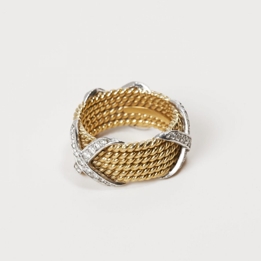 jean schlumberger for tiffany & co rope ring