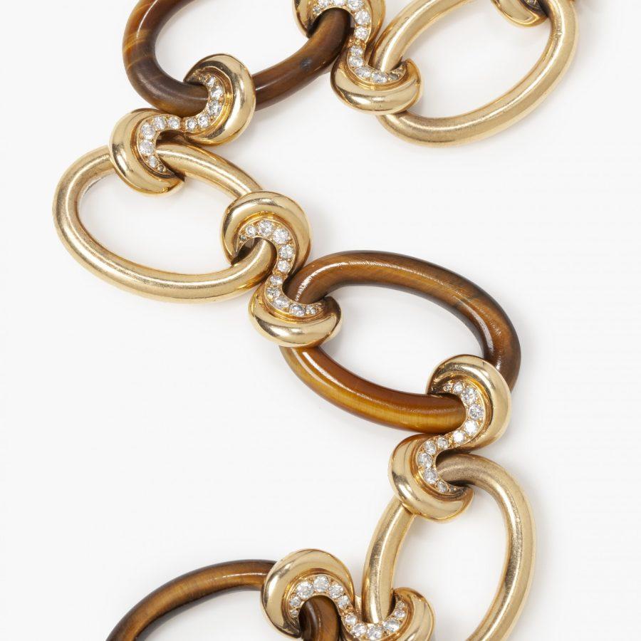 Cartier tijgeroog armband Parijs 1960s Georges Lenfant