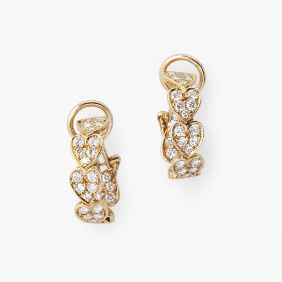 Cartier Virgo diamant oorbellen