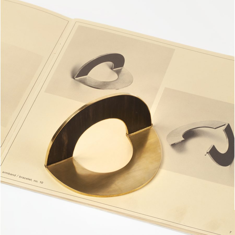 Giampaolo Babetto armband goud met hout 1977