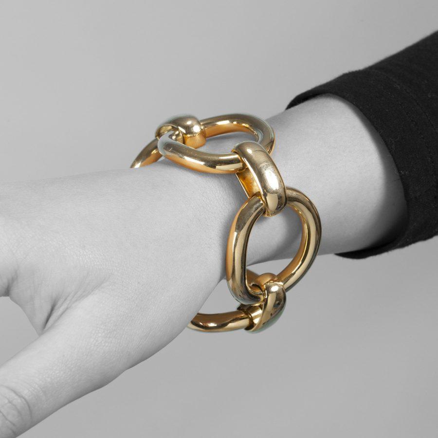 Cartier Parijs geelgouden armband 1960's