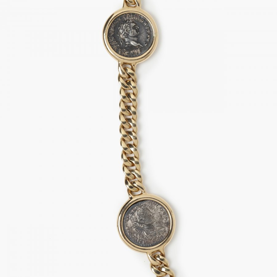 Bvlgari Monete collier Italië Bulgari