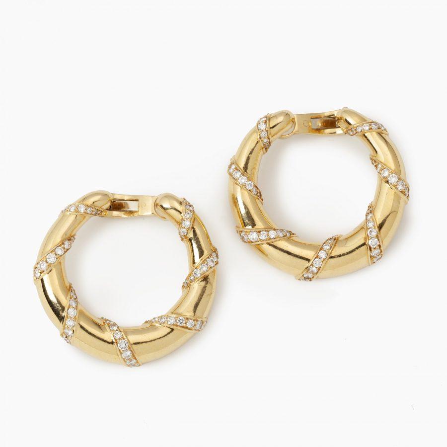 Cartier Parijs creolen ring oorbellen 1973