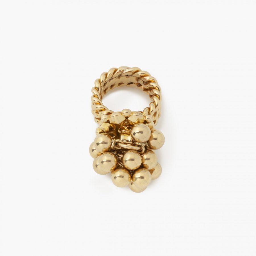 Cartier Parijs ring met bolletjes 1950's