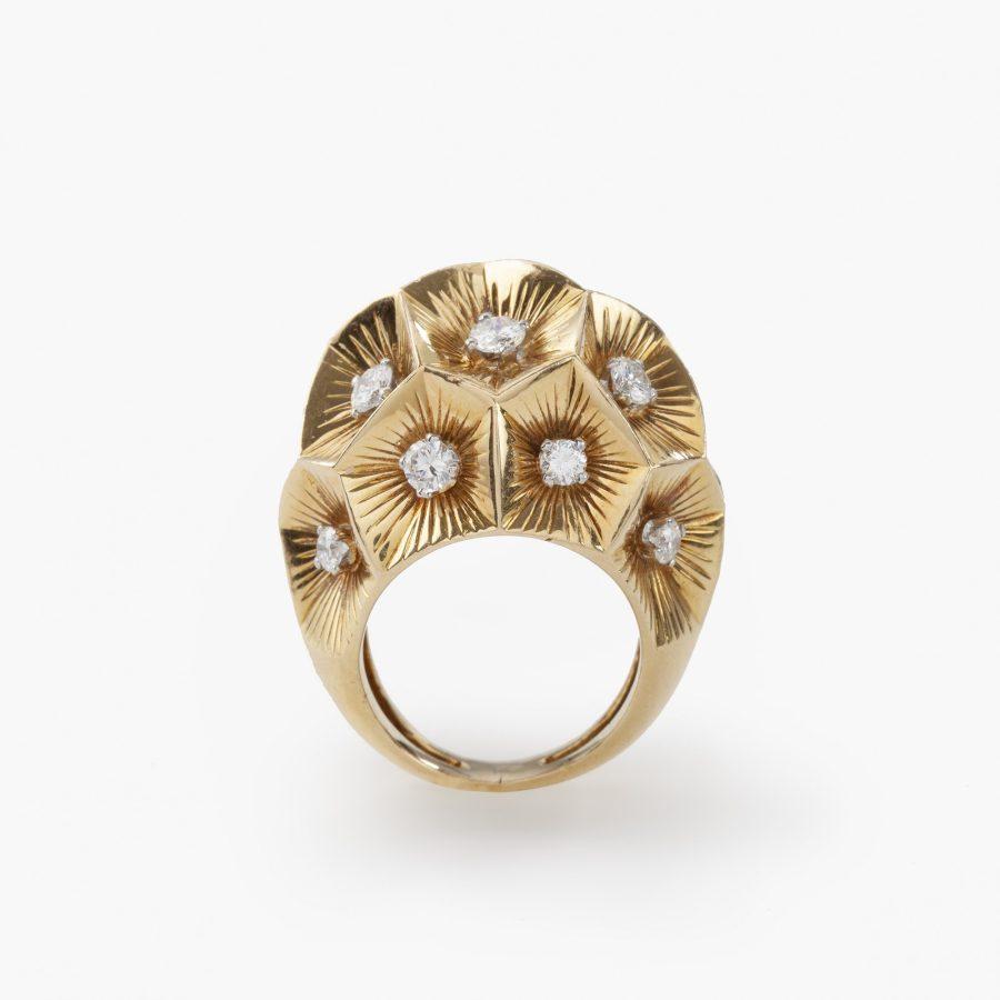 Cartier bolle ring diamant, Parijs, circa 1950