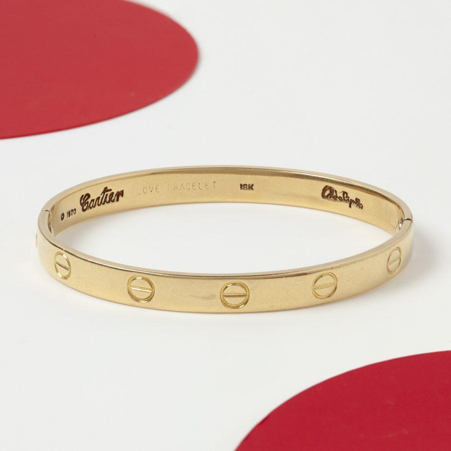 Aldo Cipullo voor Cartier New York Love Bracelet gedateerd 1970